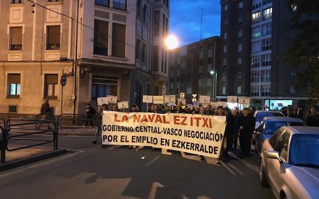 Manifestación Las Naval
